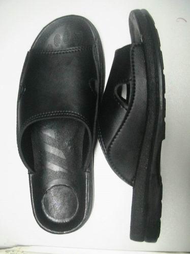 防静电pu两孔拖鞋